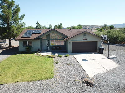 Camp Verde Single Family Home For Sale: 3691 S Clear Water Drive