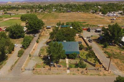 Cottonwood Single Family Home For Sale: 4100 Garden Lane