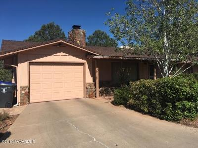 Sedona Single Family Home For Sale: 515 Mountain Shadows Drive