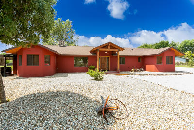 Yavapai County Single Family Home For Sale: 2225 Vanderhoef Lane