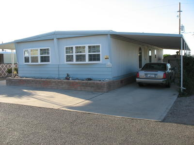 Mobile Home Active Contingent: 5653 W Circle Z Street