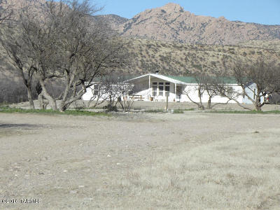 Willcox Single Family Home For Sale: 36951 W Klondyke Road