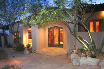 Canyon Pass At Dove Mountain Single Family Home For Sale: 14575 N High Dove Place