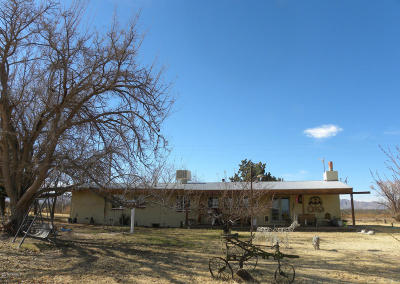 Cochise County Single Family Home For Sale: 4737 W Duke Road
