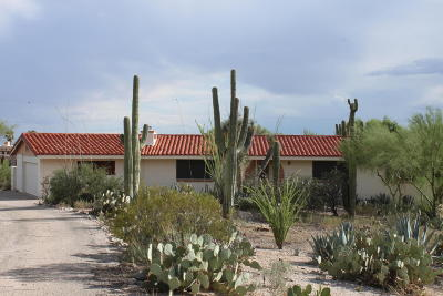 Tucson Single Family Home Active Contingent: 2640 E Camino La Zorrela