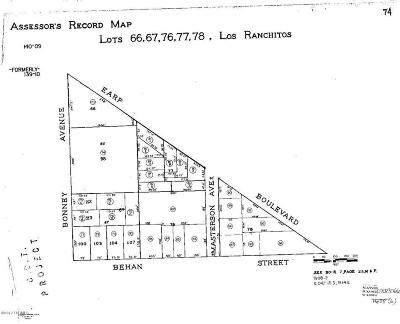 Residential Lots & Land For Sale: 5453 S Masterson Avenue