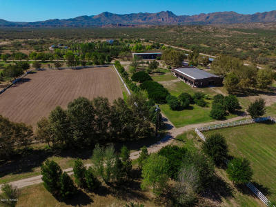 Cochise County Single Family Home For Sale: 2565 N Ocotillo Road
