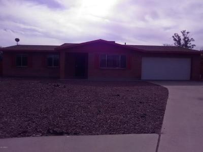 Tucson Single Family Home Active Contingent: 1811 W Oak View Lane