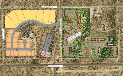 Oro Valley Residential Lots & Land For Sale: Nwc Tangerine & La Cholla