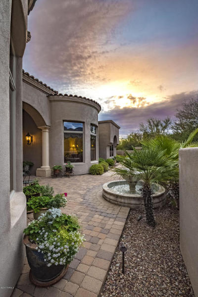 Pima Canyon Estates (1-176) Single Family Home Active Contingent: 7561 N Mystic Canyon Drive