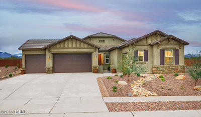 Sahuarita Single Family Home For Sale: 1321 E Madera Estates Lane