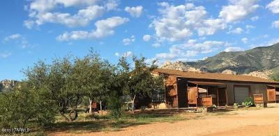 Cochise Single Family Home For Sale: Stronghold & Redhead Road
