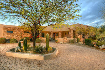 Pima County Single Family Home For Sale: 1102 W Vistoso Highlands Drive