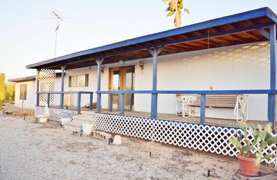 Tucson Single Family Home Active Contingent: 13225 W El Lobo Road