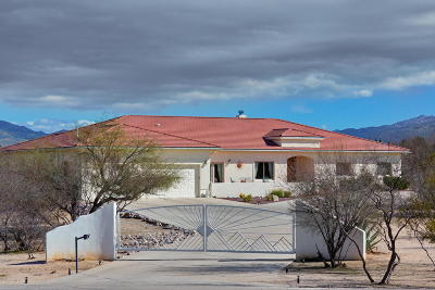 Tucson Single Family Home For Sale: 1190 N Tanque Verde Loop Road