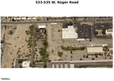 Residential Lots & Land For Sale: 535 W Roger Road #533/535