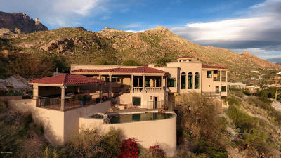 Tucson Single Family Home For Sale: 4150 E La Paloma Drive