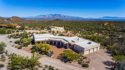 Tucson Single Family Home Active Contingent: 3360 N Horseback Trail