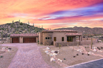 Oro Valley Single Family Home Active Contingent: 1980 W Glowing Granite Place