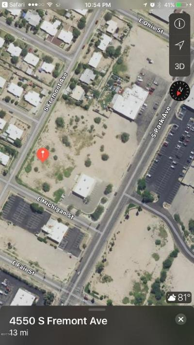 Residential Lots & Land For Sale: 4550 S Fremont Avenue