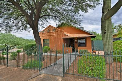 Tucson Single Family Home For Sale: 46 W University Boulevard