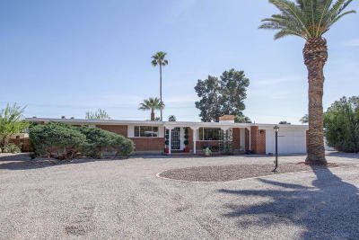 Tucson Single Family Home For Sale: 5856 E South Wilshire Drive