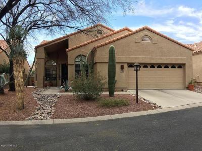 Tucson Single Family Home For Sale: 6095 N Black Bear Loop