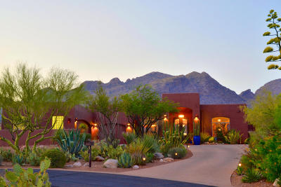 Pima Canyon Estates (1-176) Single Family Home Active Contingent: 2263 Quiet Canyon Drive