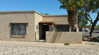 Pima County Townhouse For Sale: 1882 S Avenida Prado
