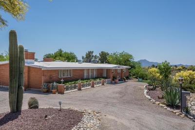 Tucson Single Family Home For Sale: 5431 N Agave Drive