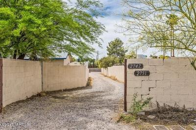 Corona De Tucson, Green Valley, Marana, Mt. Lemmon, Oro Valley, South Tucson, Tucson, Vail Single Family Home For Sale: 2747 N Castro Avenue