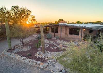 Tucson AZ Single Family Home Active Contingent: $440,000