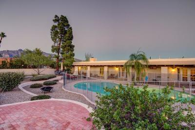 Tucson Single Family Home Active Contingent: 4955 N Via Condesa