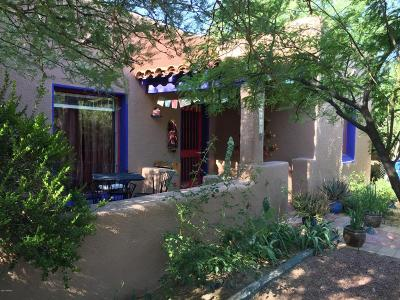 Tucson Single Family Home For Sale: 1640 E Water Street