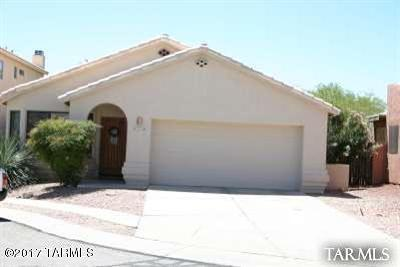 Oro Valley Single Family Home Active Contingent: 1219 W Crystal Palace Place