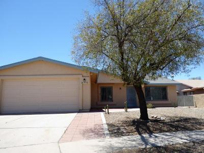 Tucson Single Family Home For Sale: 5990 S Blucher Drive