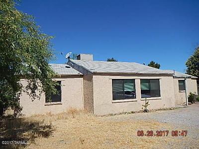 Tucson AZ Single Family Home Active Contingent: $110,000