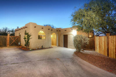 Pima County Single Family Home For Sale: 925 E Desert Parkway
