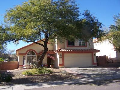 Oro Valley Single Family Home For Sale: 10633 N Camino Rosas Nuevas