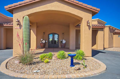 Tucson Single Family Home For Sale: 2570 N Sunrock Lane