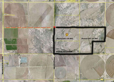Willcox Residential Lots & Land For Sale: 10000 N Block Of Fort Grant Road