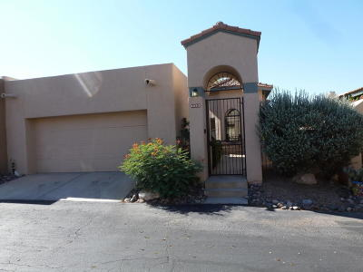 Tucson Townhouse For Sale: 6052 N Tocito Place