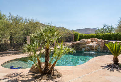 Marana Single Family Home Active Contingent: 13960 N Sonoran Links Court