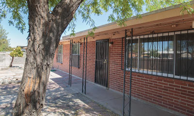 Tucson Single Family Home For Sale: 118 W Hatfield Street