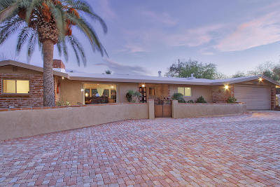 Tucson Single Family Home For Sale: 7126 N Skyway Drive