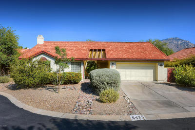 Single Family Home Active Contingent: 5431 N Waterfield Drive