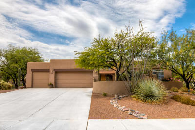 Pima County Single Family Home Active Contingent: 11825 N Mountain Laurel Place