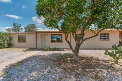 Tucson Single Family Home Active Contingent: 3324 E Silverlake Road