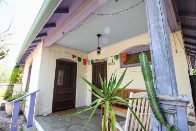 Tucson AZ Single Family Home Active Contingent: $255,000