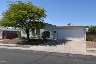 Tucson Single Family Home Active Contingent: 6215 E Rough Rock Drive